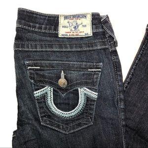 True Religion Hi Rise Boot Cut Size 28 Jeans